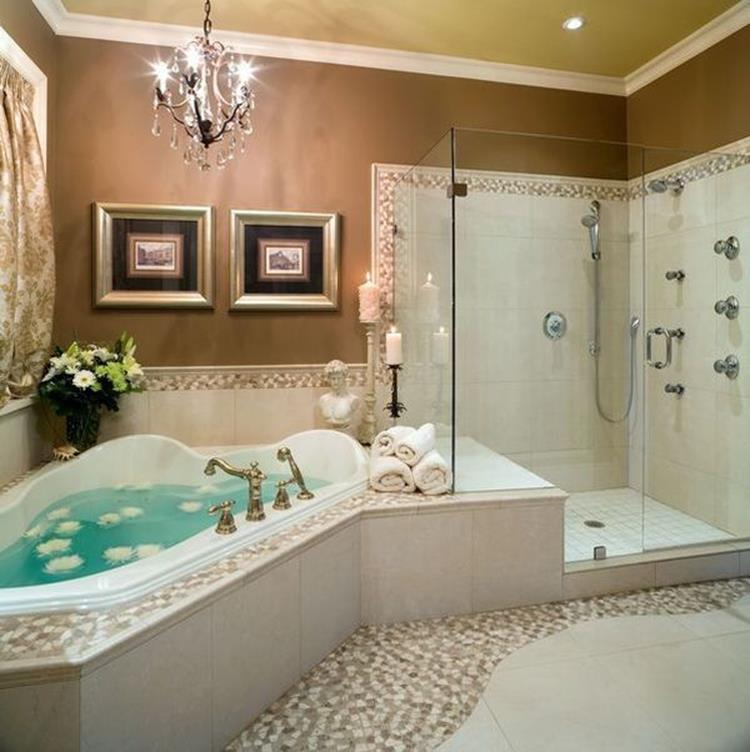 Gorgeous Spa Bathroom Makeover Ideas On a Budget 18